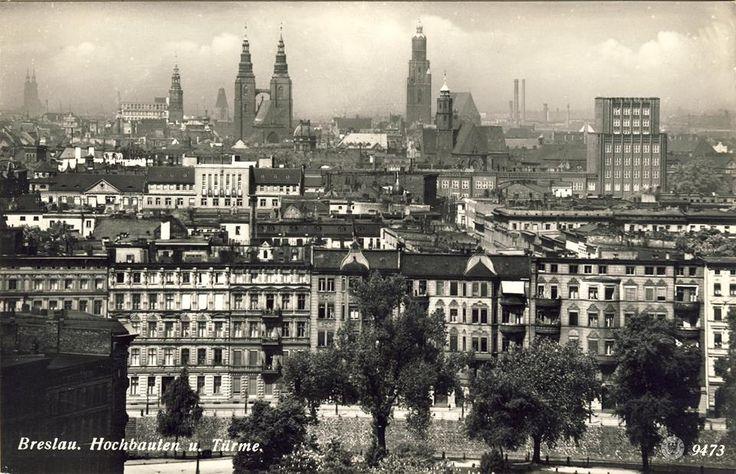 """1935, Widok z wieży ciśnień """"Na Grobli"""""""