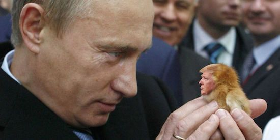 """Putin: Russian state didn't hack U.S. elections, but """"patriotically minded"""" private Russian hackers maybe did"""