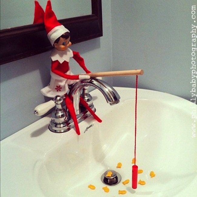 1000 images about mensch on the bench on pinterest elf for Elf on the shelf fishing