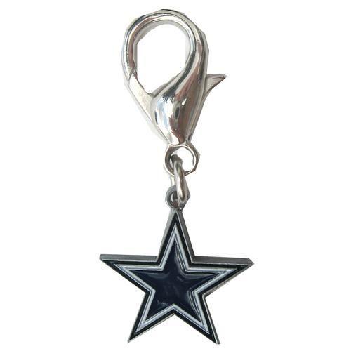 Dallas Cowboys Logo Dog Collar Charm