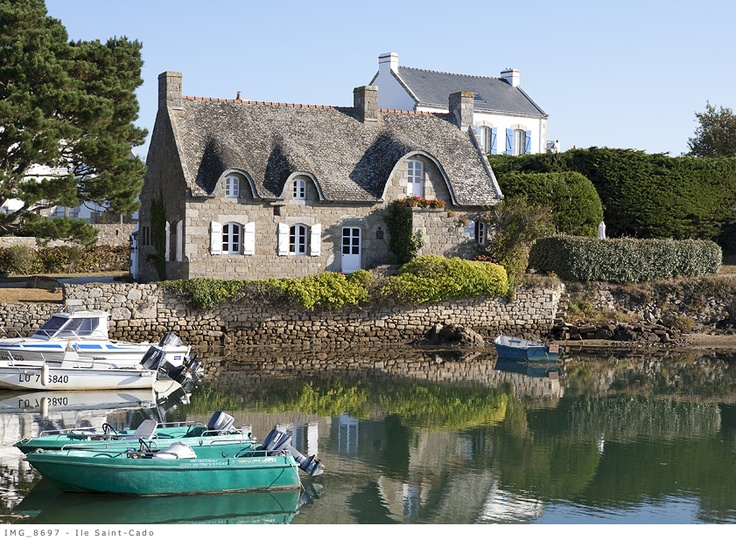 Ile de Saint Cado - Morbihan - Bretagne Sud - Louis Bourdon   Source photo : http://www.louisbourdon.com/bretagne12.php