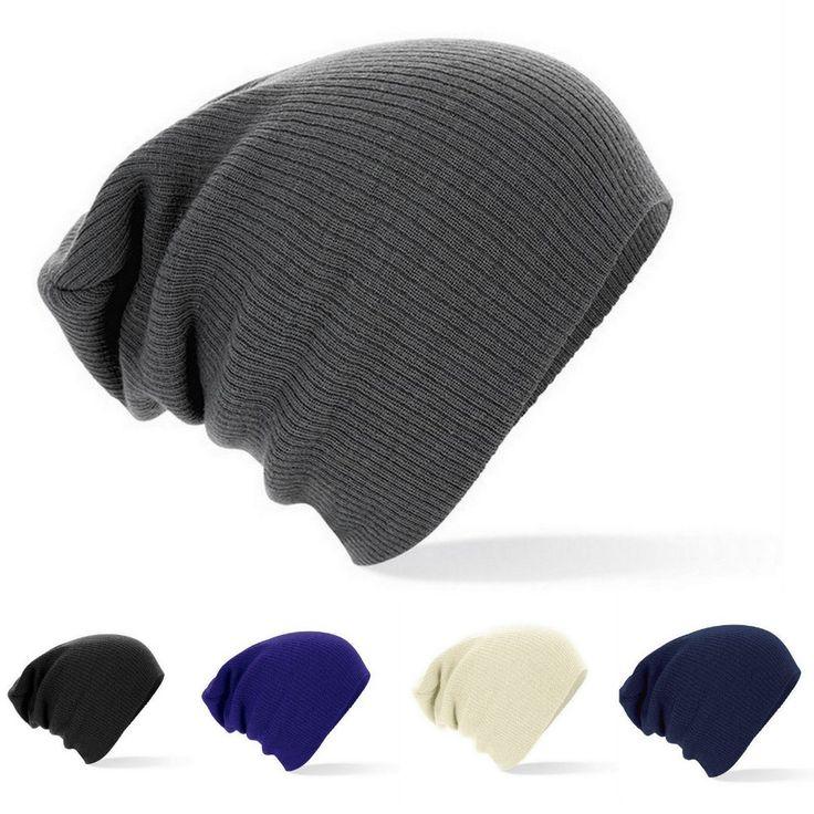 2016 New Winter Hats Solid  Hat Female Unisex Plain Warm Soft Women's Skullies Beanies Knitted Touca Gorro Caps For Men Women * For more information, visit image link.
