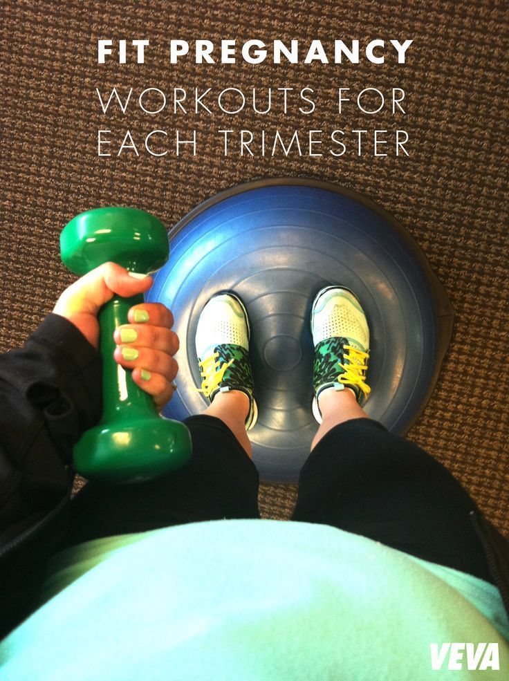 Fit Pregnancy: Workouts For Each Trimester