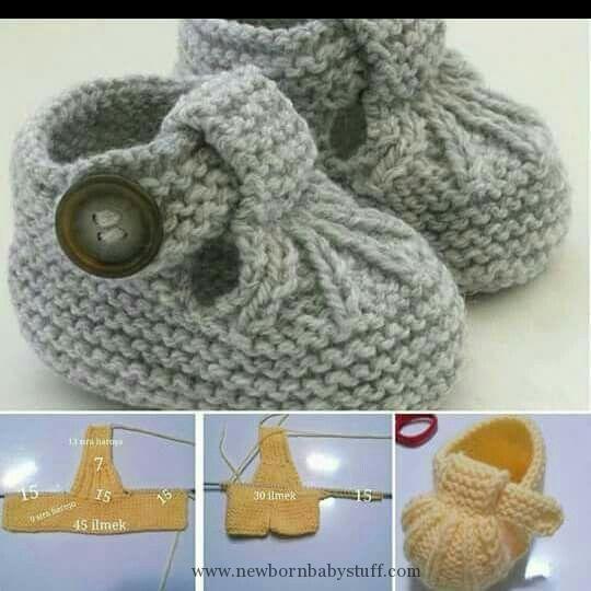 Babyschuhe... Baby Knitting Patterns