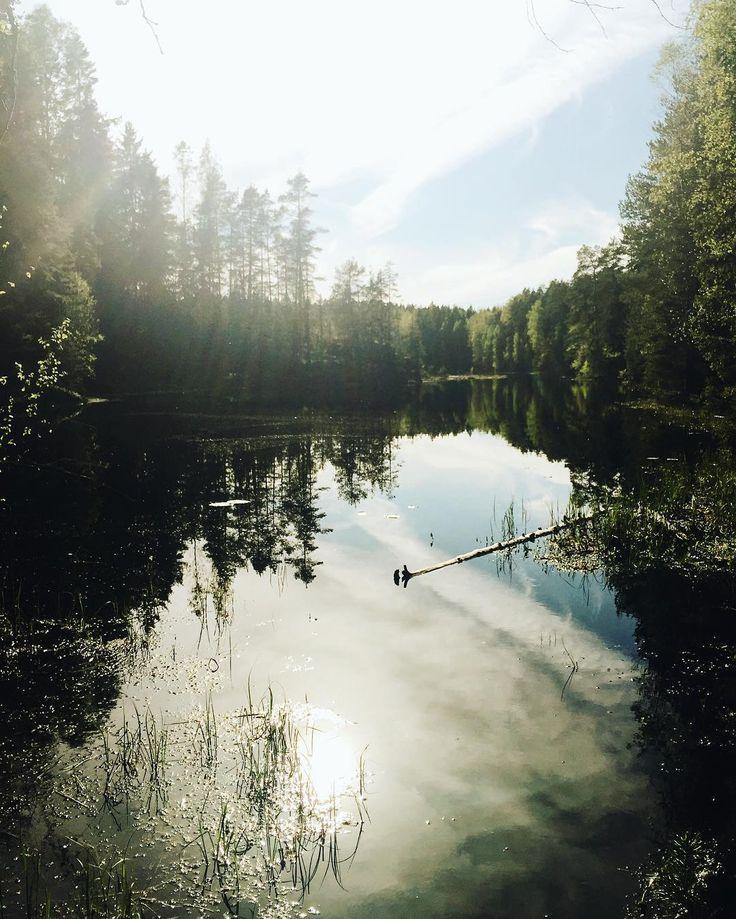 L O S T  P L A C E S #nuuksio #helsinki #finland #nationalpark #zuckerschleckengoestohelsinki @mateofeicks by lea_fei