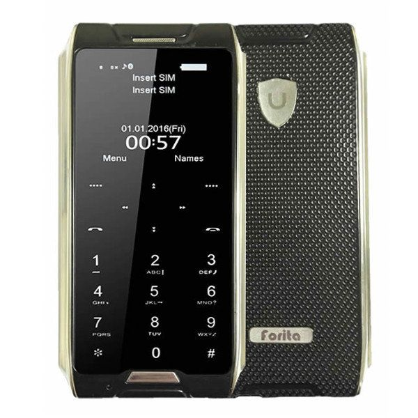 Forita F1 1.63-inch 680mAh Bluetooth Remote Capture Pocket Mini Card Mobile Phone Sale - Banggood.com