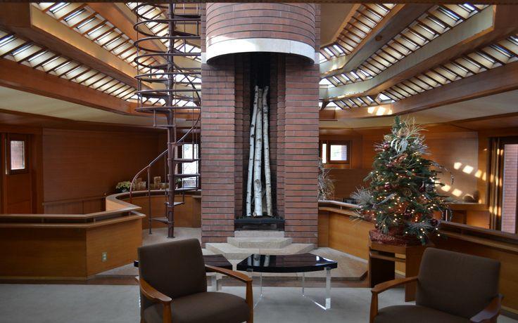 architecture indoors interior design frank lloyd wright wallpaper