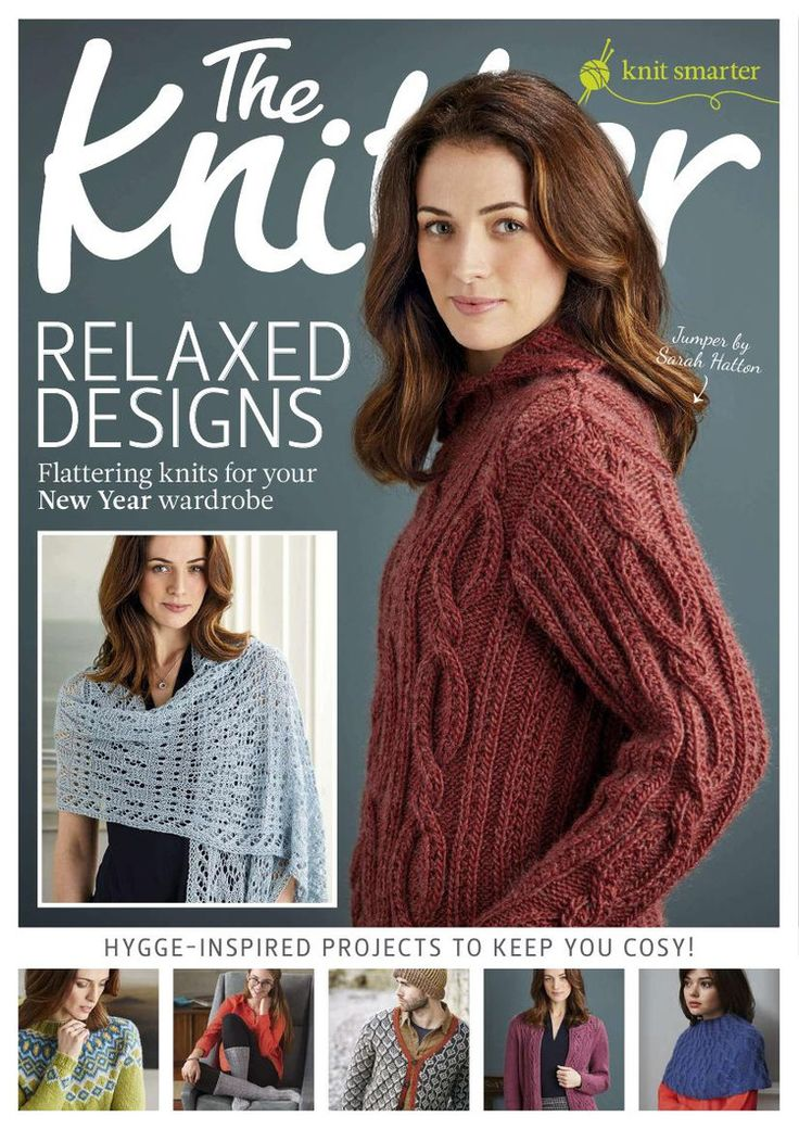 The Knitter №106 2017 - p.80 - long-sleeve yoke, p.102 - long-sleeve yoke buttoned