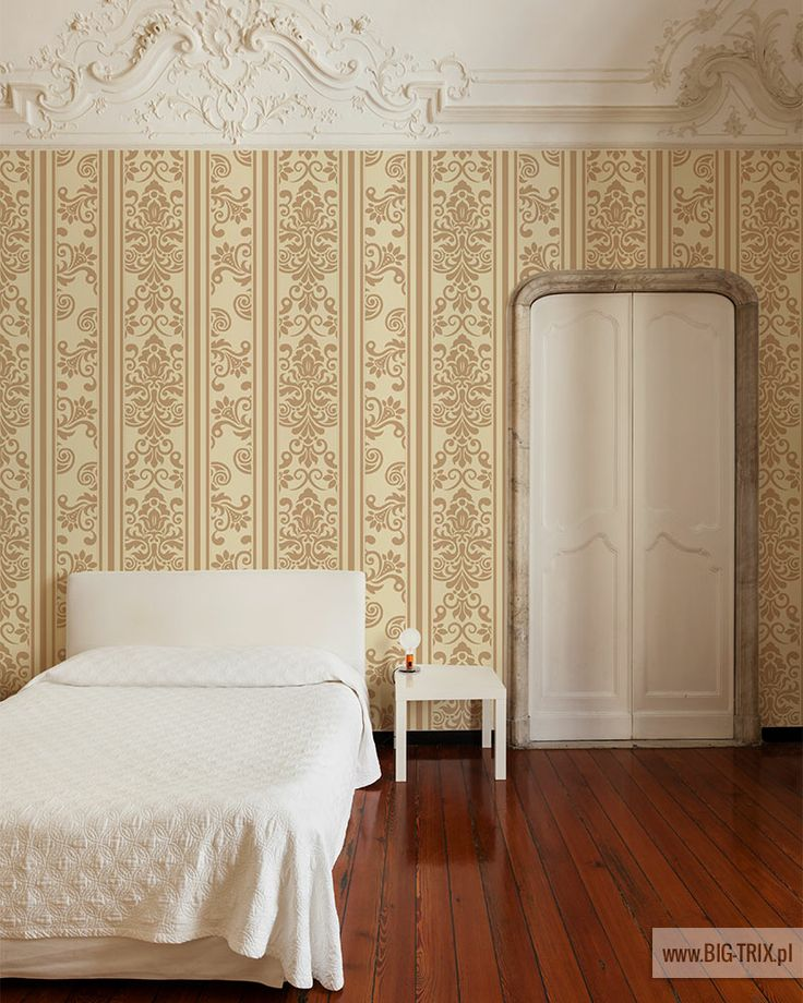 BEDROOM: Classic wallpaper by Big-trix.pl | #wallpaper #classic #vintage #rokoko #pattern #luxury