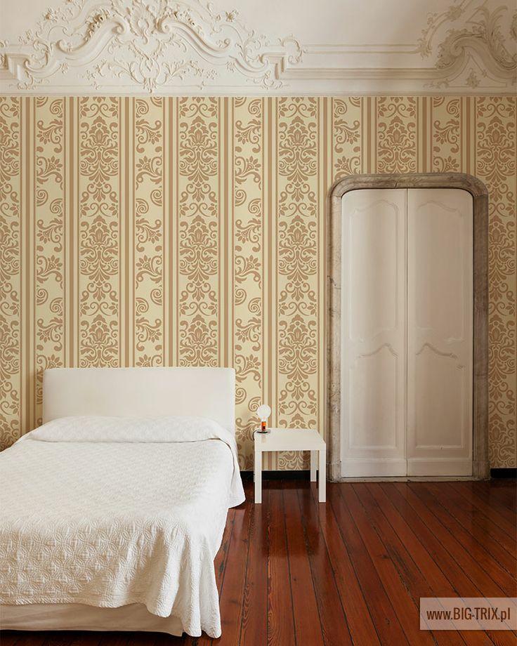 BEDROOM: Classic wallpaper by Big-trix.pl | #wallpaper #classic #vintage #rokoko #pattern #luxury
