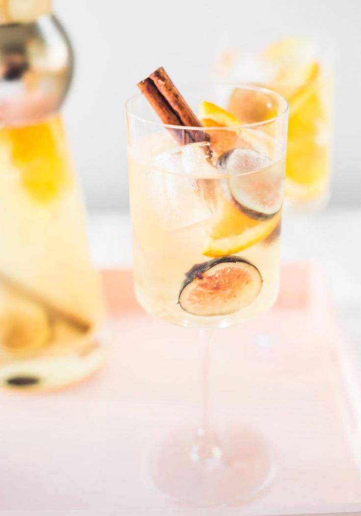 Serve up this Autumn Fig Sangria Recipe at your next get together. All the deliciousness of Autumn's flavors with no more effort than pouring a bottle!