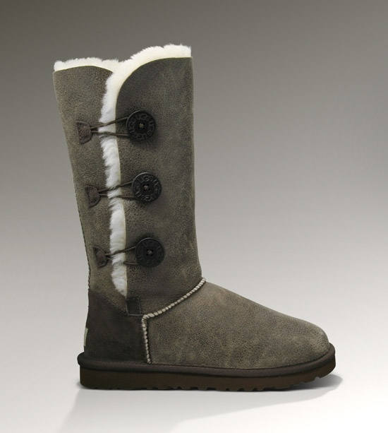 UGG Womens Bailey Button Triplet Bomber