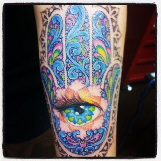 jewish tattoo | Hamsa Tattoo | Pinterest | Jewish tattoo ...