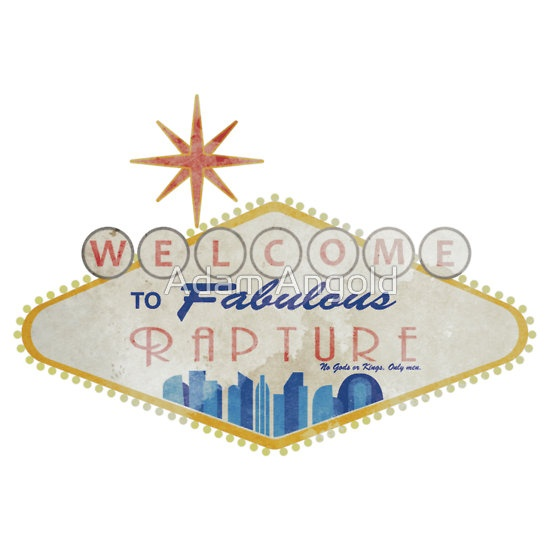 """""""Welcome To Rapture Remastered"""" T-Shirts & Hoodies by Adam Angold   RedBubble"""