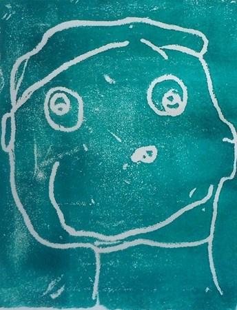 Kinder self portrait prints