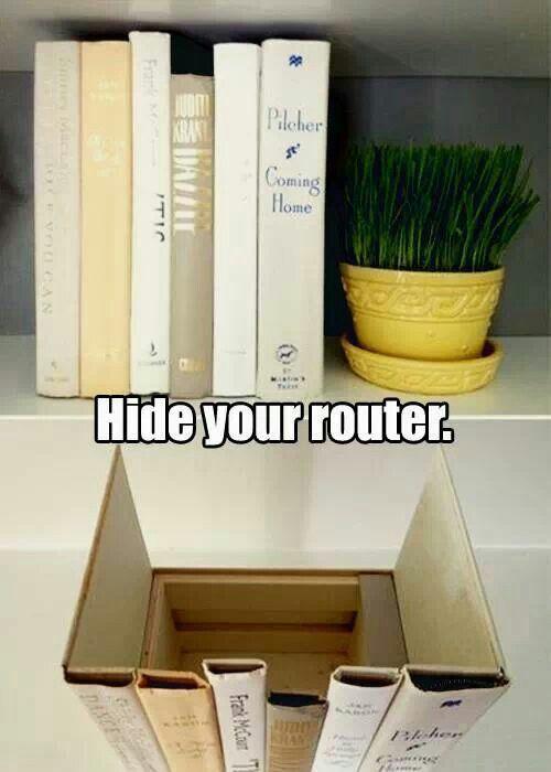 Nascondere il router