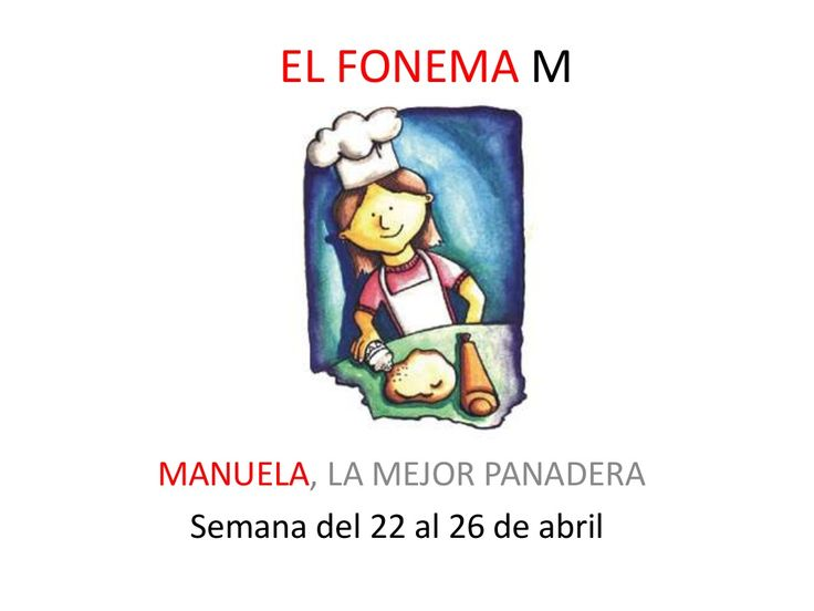 El fonema M by SusanaMaestradeAL Corralejo Barrero via slideshare