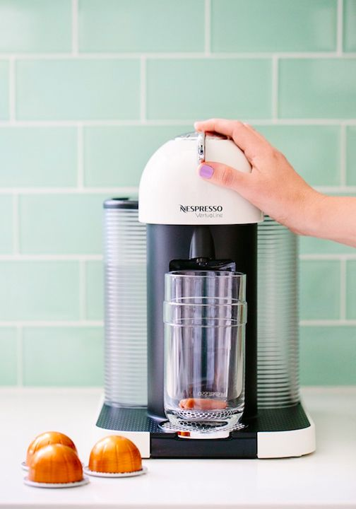 how to make an iced latte with an espresso machine