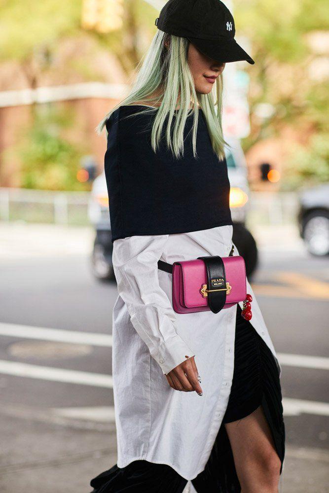 22288261043f cool Модные женские сумки на пояс — Трендовые новинки 2018