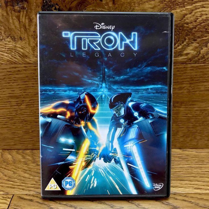 Disney Tron Legacy DVD Film Movie 2011 digital world imagination +bonus features