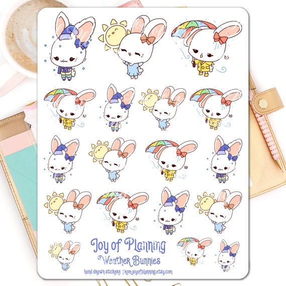 Weather planner stickers planning weather by JoyofPlanning on Etsy