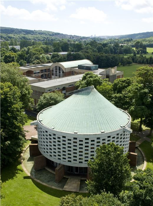 University of Sussex, England, designed by Sir Basil Spence