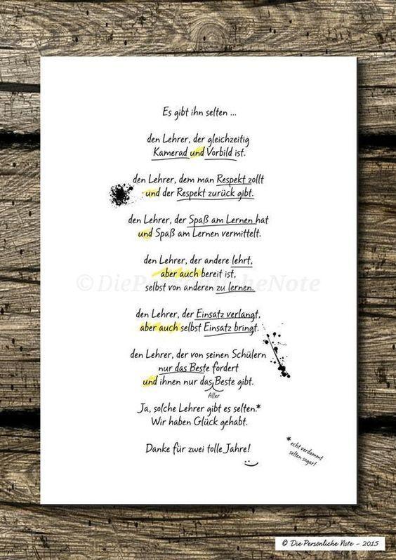 Digitaldruck - Druck/Print: Originelle Geschenkidee für Lehrer/in - ein Designerstück von DiePersoenlicheNote bei DaWanda: