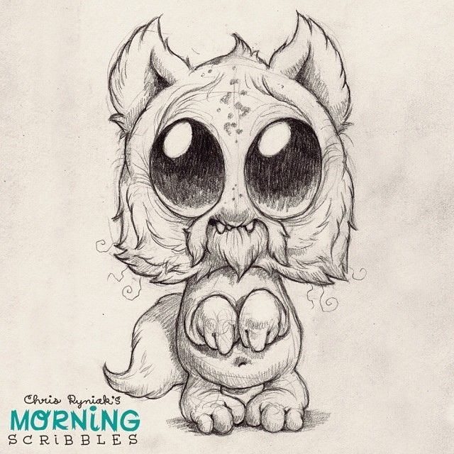 monster with pencil coloring pages - photo#18