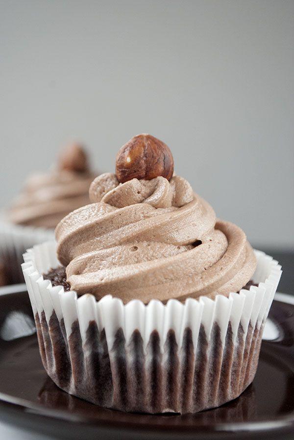 Nutella-Cupcakes