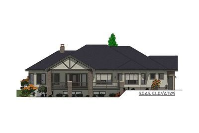 Craftsman House Plan with Junior Master Suite - 64453SC thumb - 05