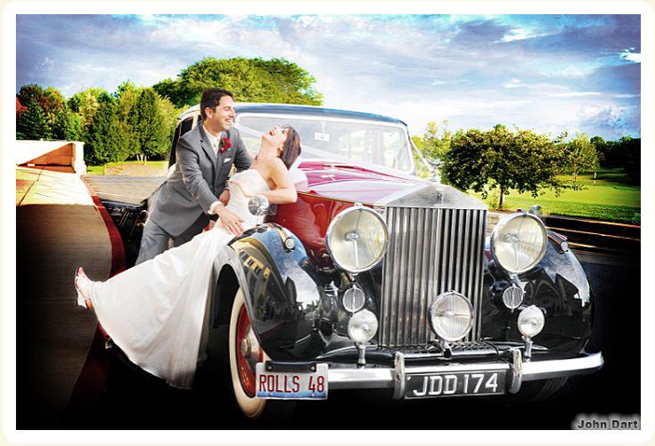 1948 Rolls Royce rental cars for weddings