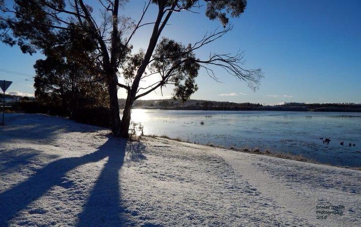 May snow  Lake Dulverton  Oatlands