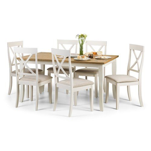 Found it at Wayfair.co.uk - Longeville Dining Set with 6 Chairs