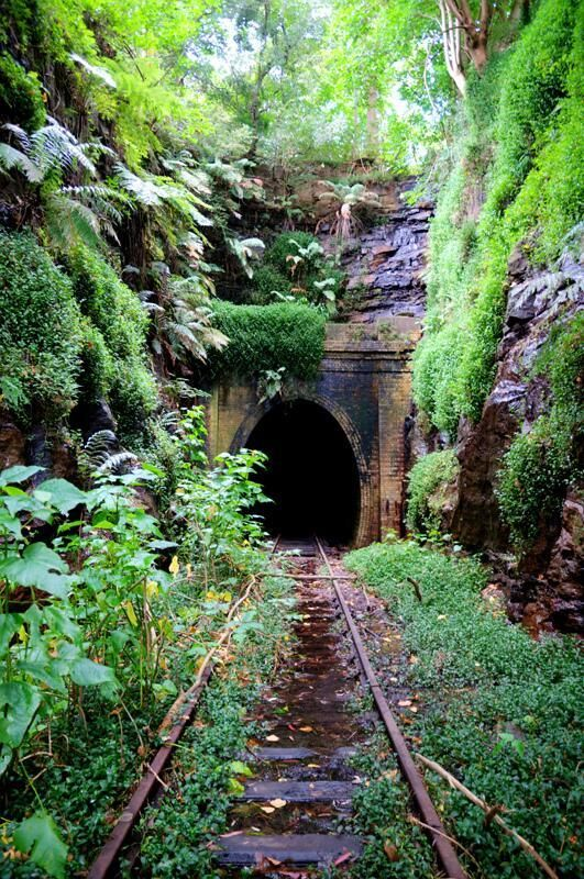 Gare abandonnée en Nouvelle-Galles du Sud