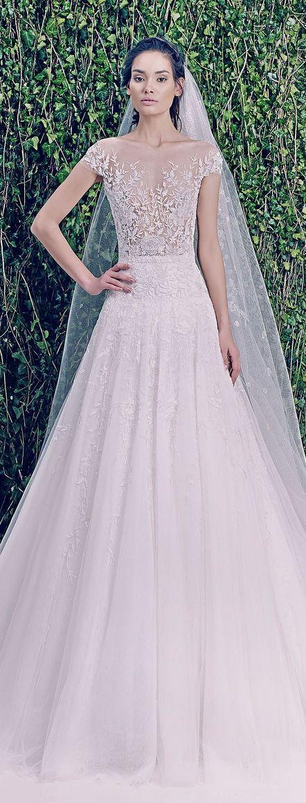 Zuhair murad bridal f w 2014 2015 bridal dresses for Zuhair murad 2014 wedding dresses