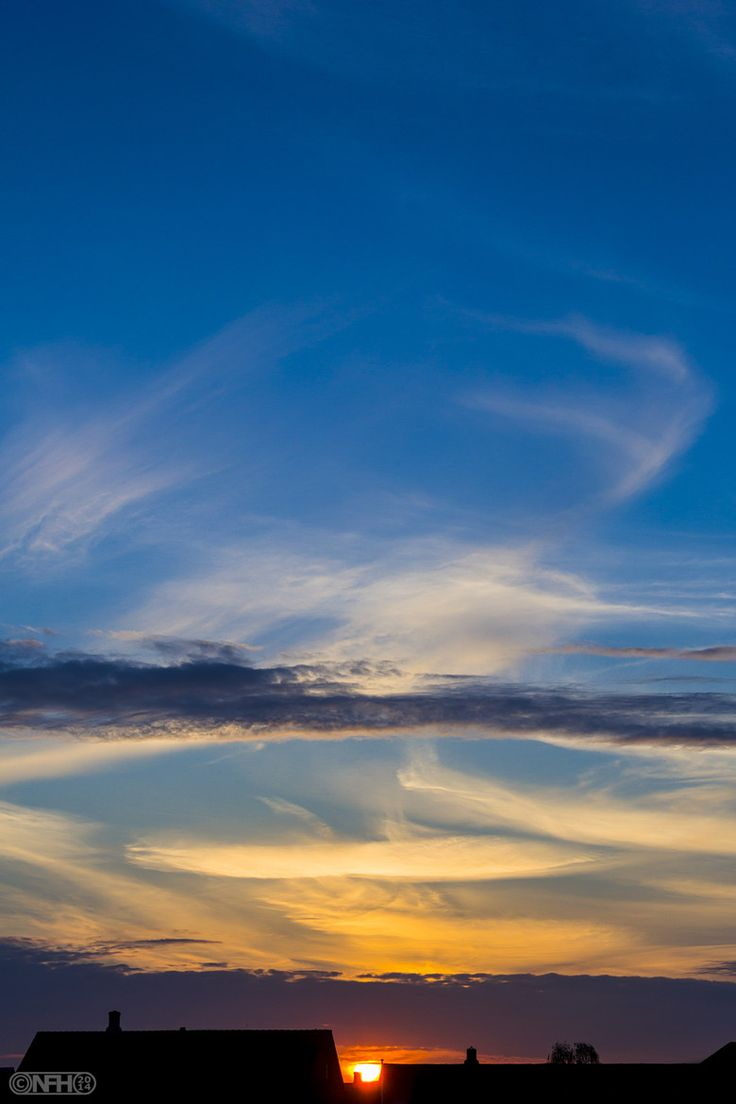 Photograph Sunset over Nyborg, Denmark - 2014-04-22 by N. Halberg on 500px