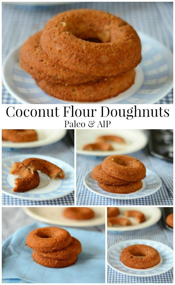 10.9M - Coconut Flour Doughnuts - The Coconut Mama