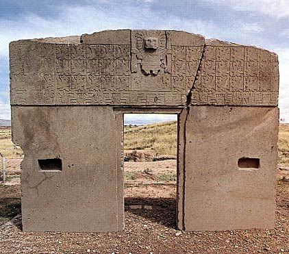 puma-punku-gate-of-cougar. Most of these stones weigh around 100 tons, but some have even been estimated to weigh 400 tons, or more.
