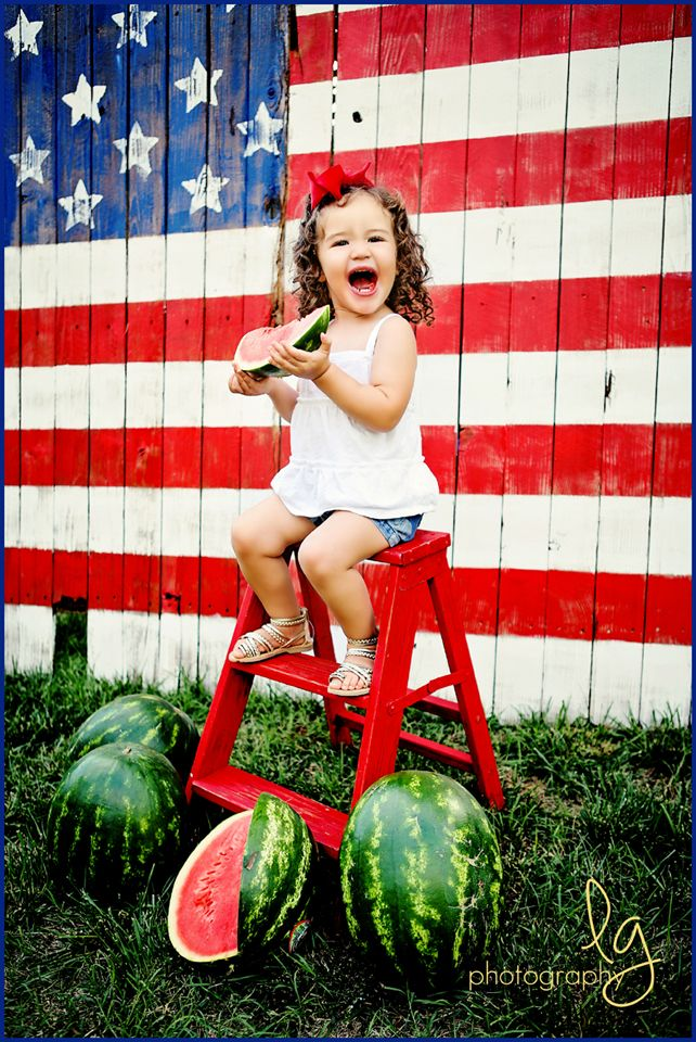 So much cuteness happening at the Lg Photography 4th of July Mini session! Everyone loves a great American Flag! www.lisageorge-photography.com