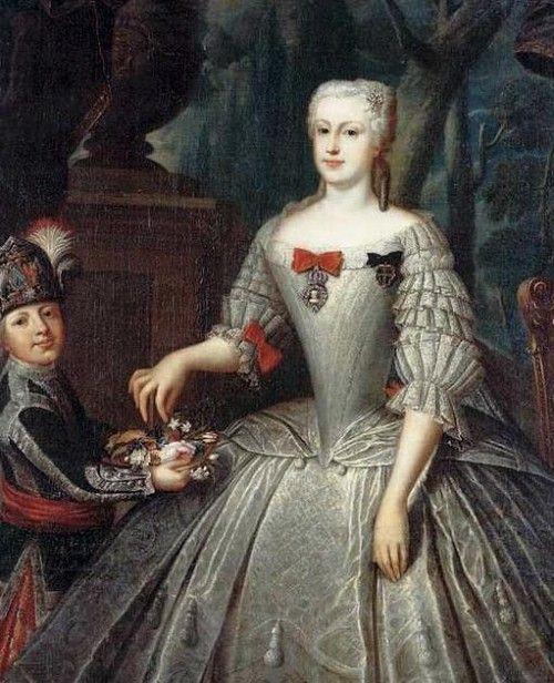 "Maria Anna Franziska Kolowrath-Krakowski, Gräfin Brühl (1717-1762)"""