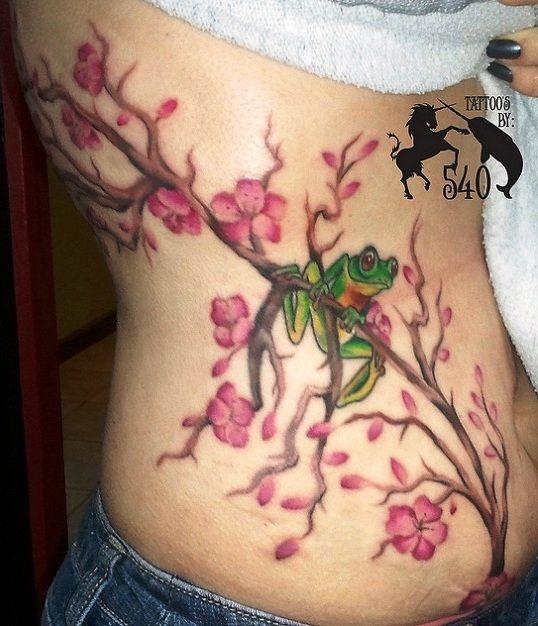 japanese tattoo, gingko, cherry blossoms | ... cherry blossom tree daisy tattoo cherry blossom tree tattoo 1