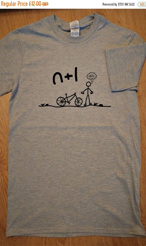 Cycling Equation Mountain Bike Shirt  Sport Grey/Gray  FREE