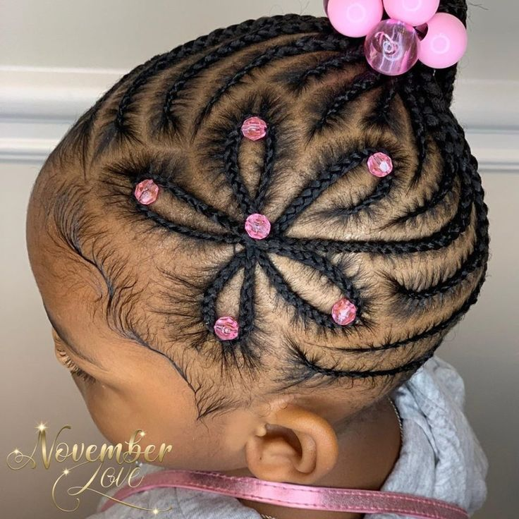 50 Kids Braids with Beads Hairstyles   Black Beauty Bombshells