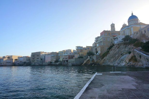 Syros has been the capital of the Cyclades for over two hundred years, so has both cherished and upheld the quality of Cycladic culture. #FiveStarGreece #LuxuryVillas #HolidayMatchmakers