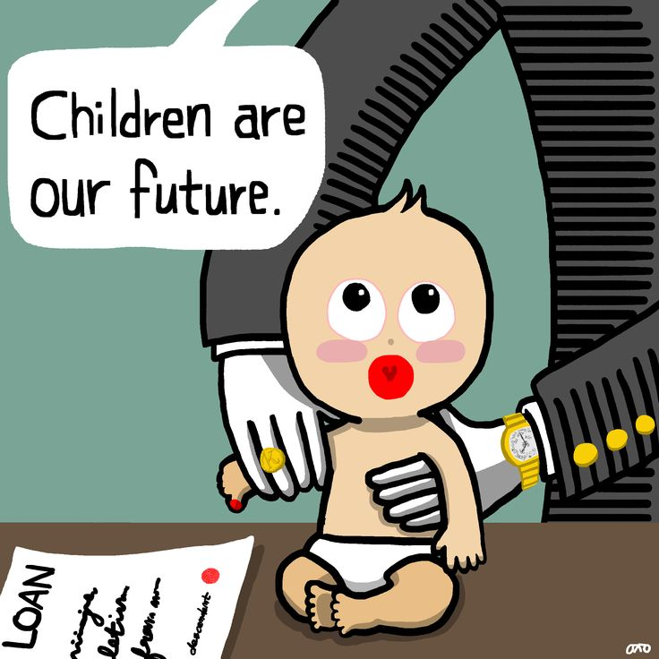 We have a debt to the children even who unborn.