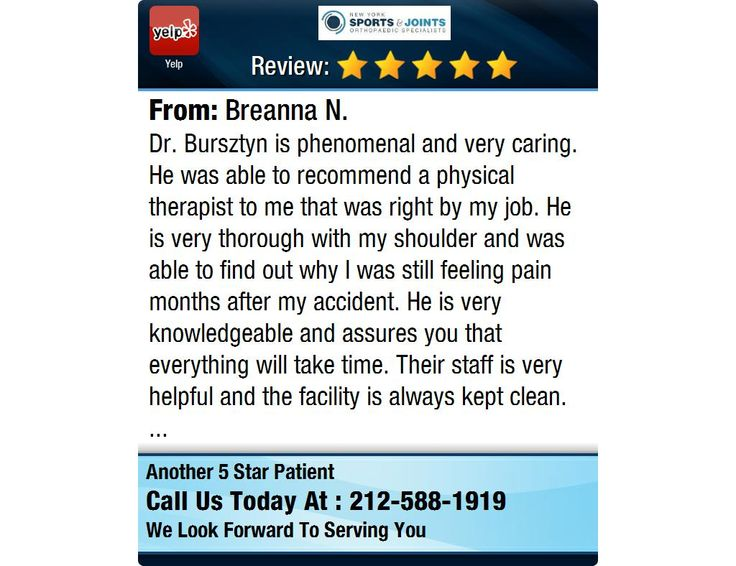 Dr bursztyn is phenomenal and very caring he was able to