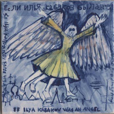 LUIS DESENHA: Se Ilya Kabakov fosse um Anjo