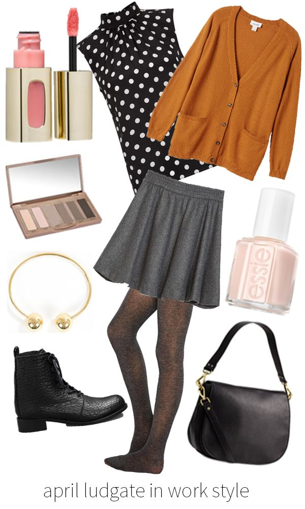 Fantasy Styling: April Ludgate Style