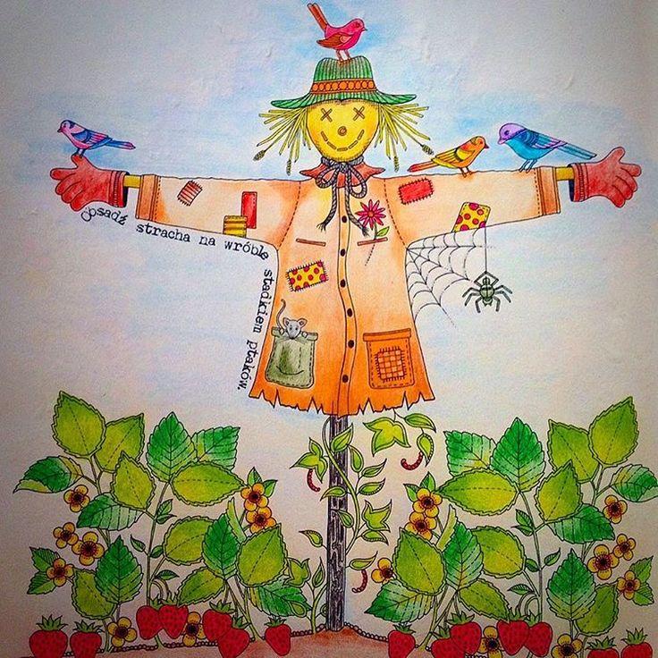 Johannabasford Sztukakolorowania Coloringbookforadults Coloringbook Kolorowankadladoroslych
