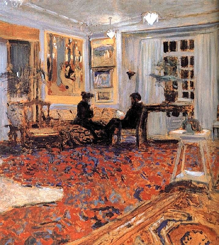 'Chat' by Edouard Vuillard.                                                                                                                                                      More